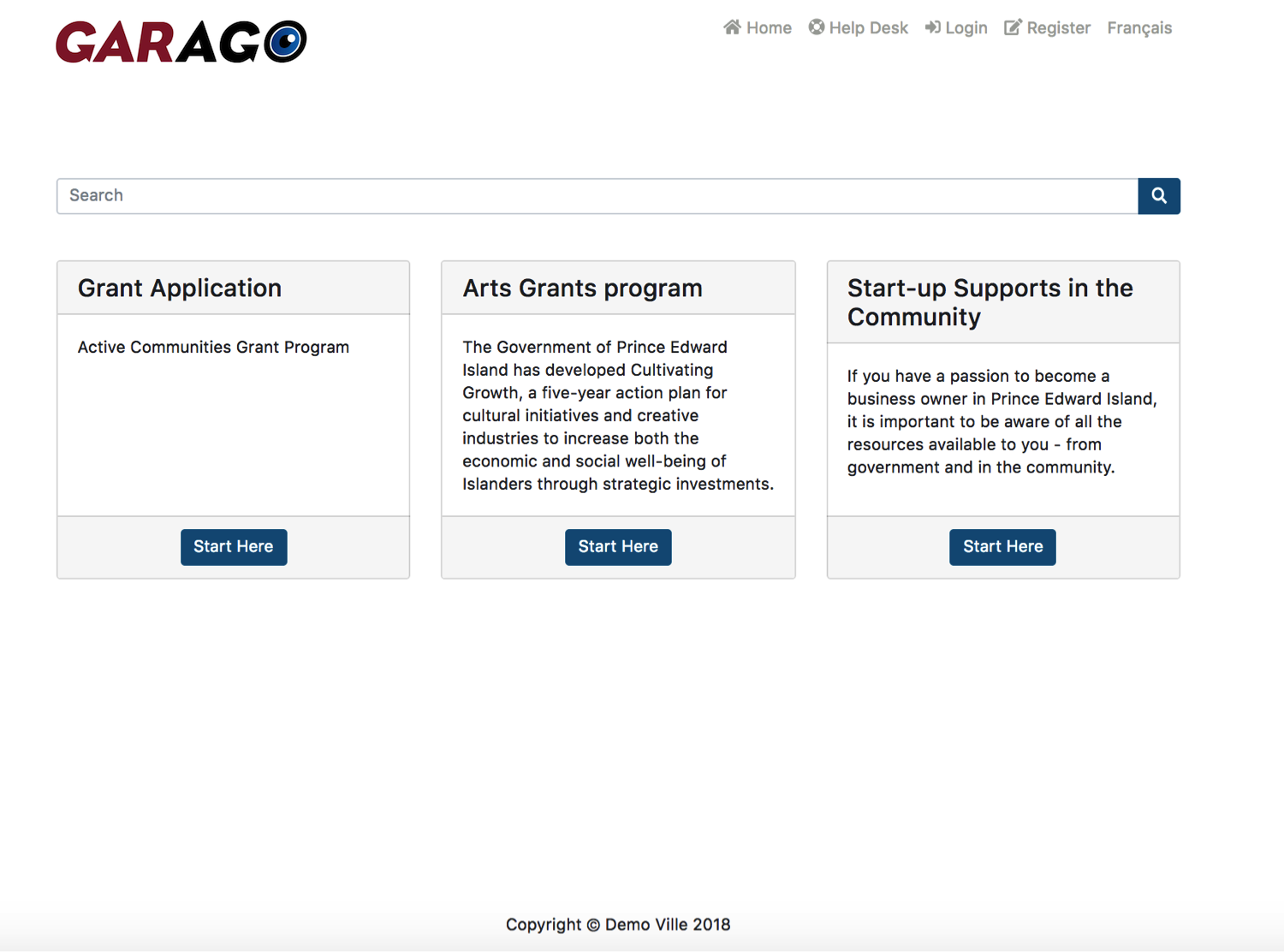 Your Own Grant Page In Minutes